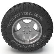 Goodyear Wrangler Reifen 3d model
