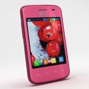 LG Optimus L1 II Tri E475 Różowy 3d model