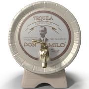 Baril de tequila 3d model