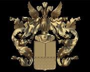 escudo de armas modelo 3d