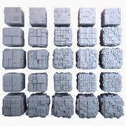 Sci-Fi Cube MHT Bundle-01 3d model