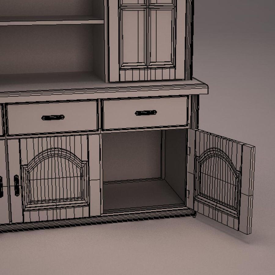 Meubles en bois royalty-free 3d model - Preview no. 28