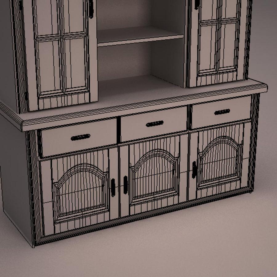 Meubles en bois royalty-free 3d model - Preview no. 26