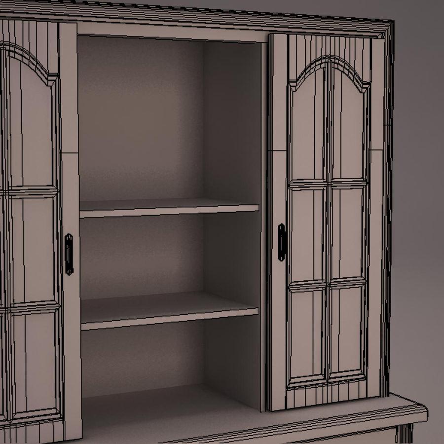 Meubles en bois royalty-free 3d model - Preview no. 29