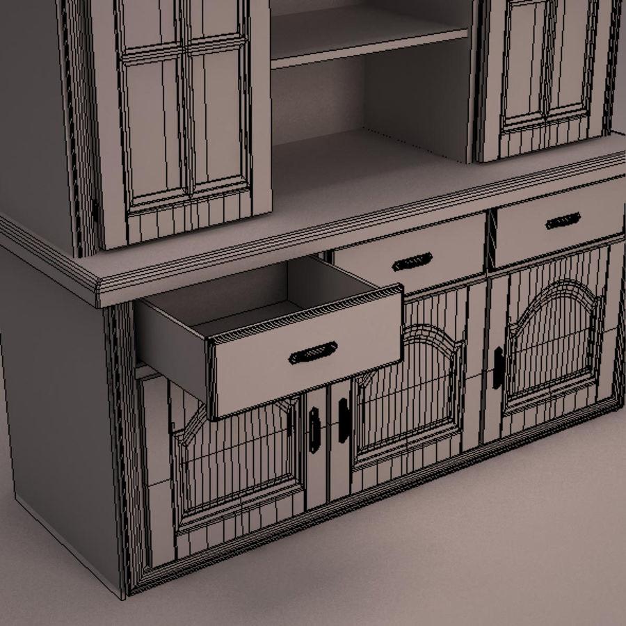 Meubles en bois royalty-free 3d model - Preview no. 27
