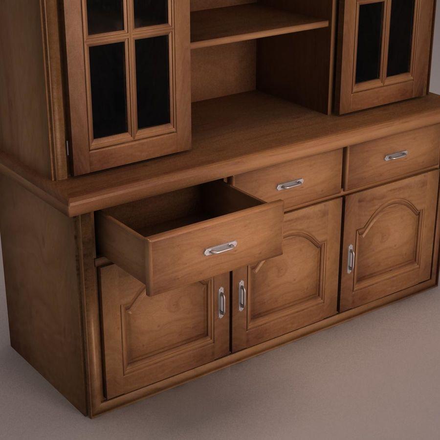 Meubles en bois royalty-free 3d model - Preview no. 13