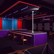 Stonette3 Nightclub 3d model