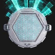 Sci fi Turntable 3d model