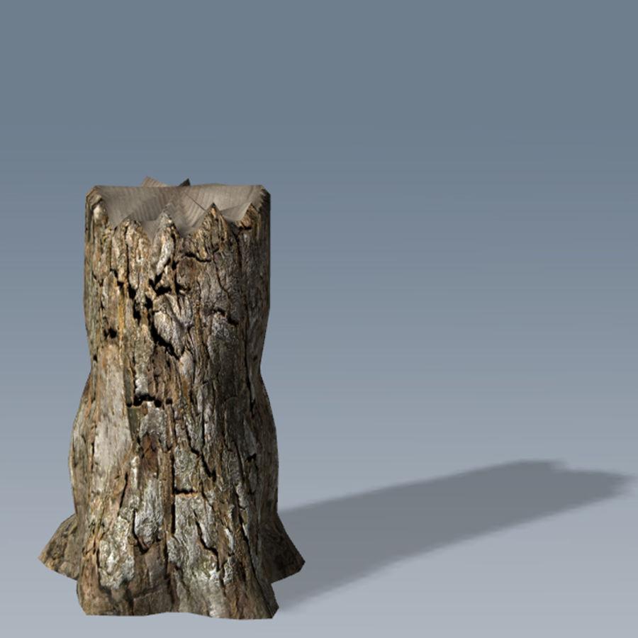 Conjunto de árvores de maçã CRYENGINE royalty-free 3d model - Preview no. 11
