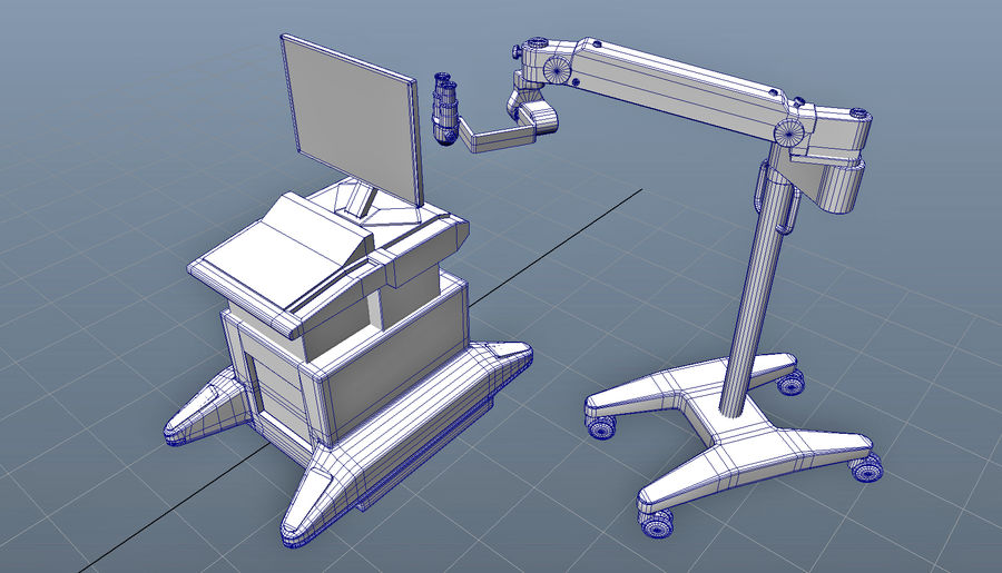 Medical Equipment royalty-free 3d model - Preview no. 10