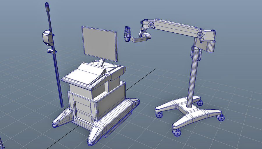 Medical Equipment royalty-free 3d model - Preview no. 14