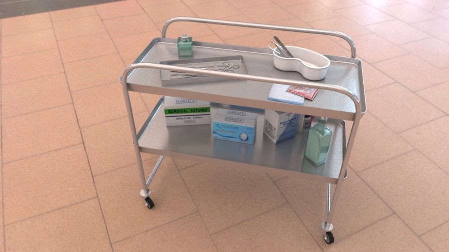 Medical Equipment royalty-free 3d model - Preview no. 7