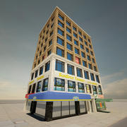 Tall New York Building 3d model