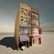 New York-byggnader 3d model