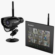 Wireless SD DVR Kit and Camera Lorex 3d model