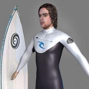 Surfer 3d model