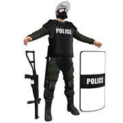 진압 경찰 H2 3d model