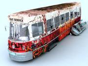 tram Grunge 3d model