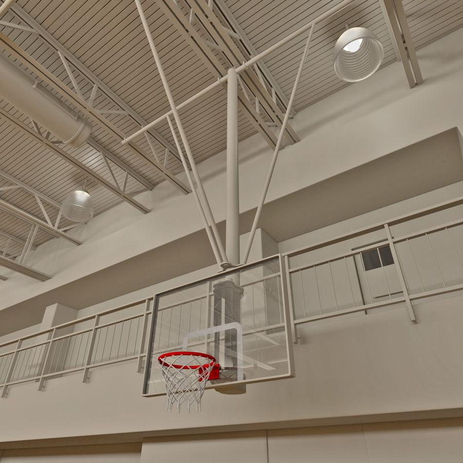 Academia de basquete royalty-free 3d model - Preview no. 11