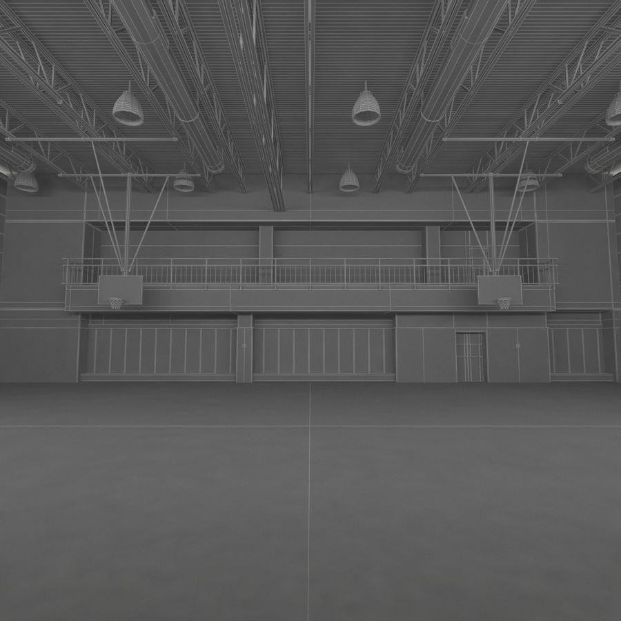 Academia de basquete royalty-free 3d model - Preview no. 18