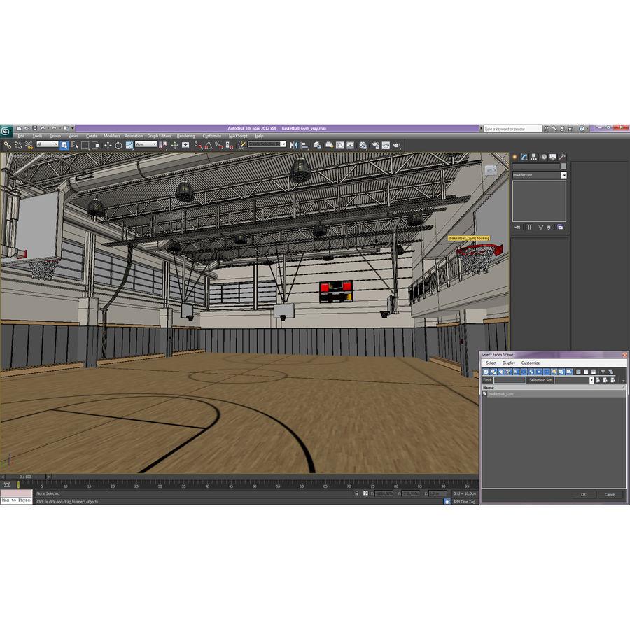 Academia de basquete royalty-free 3d model - Preview no. 33