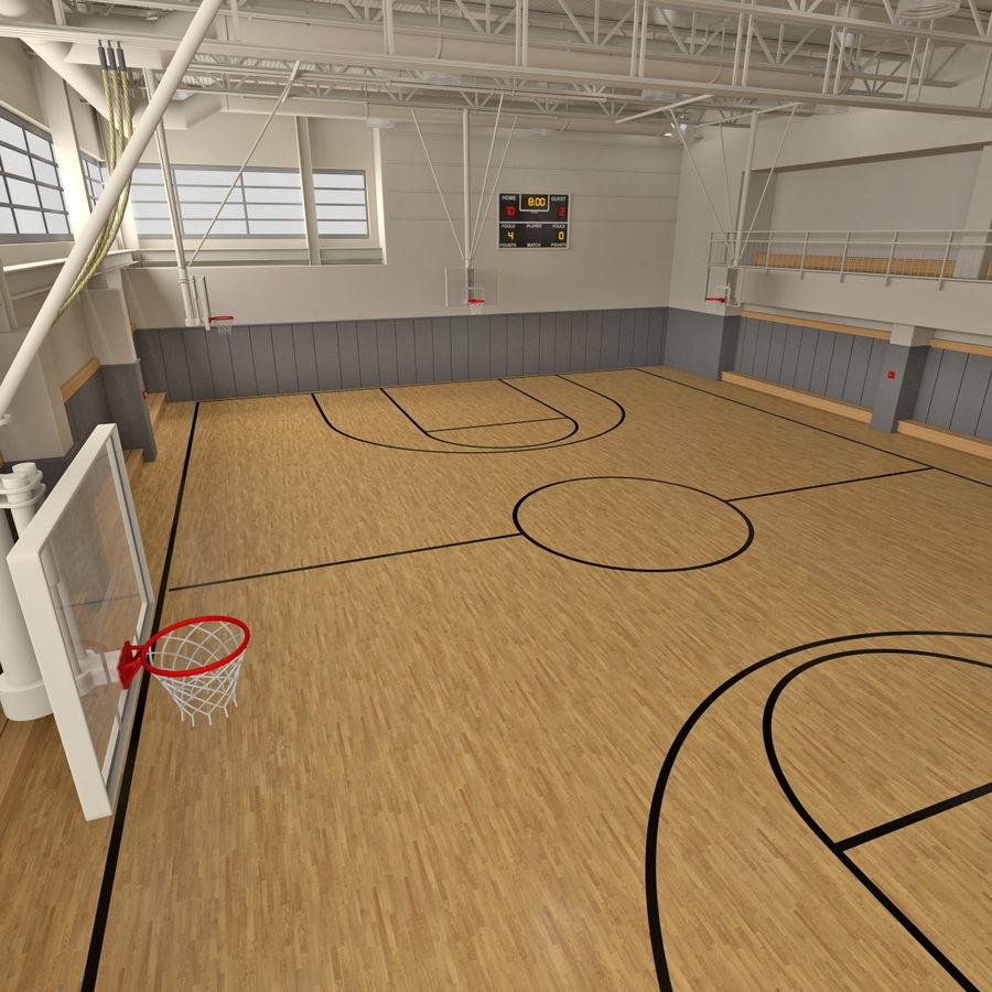 Academia de basquete royalty-free 3d model - Preview no. 14
