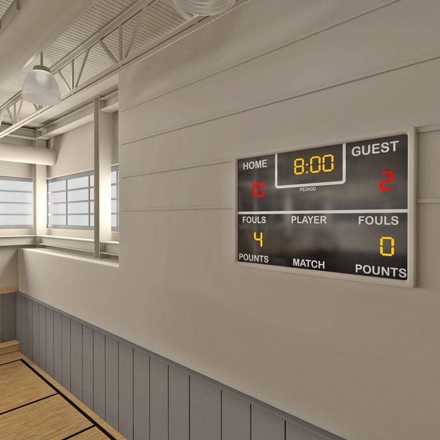 Academia de basquete royalty-free 3d model - Preview no. 17