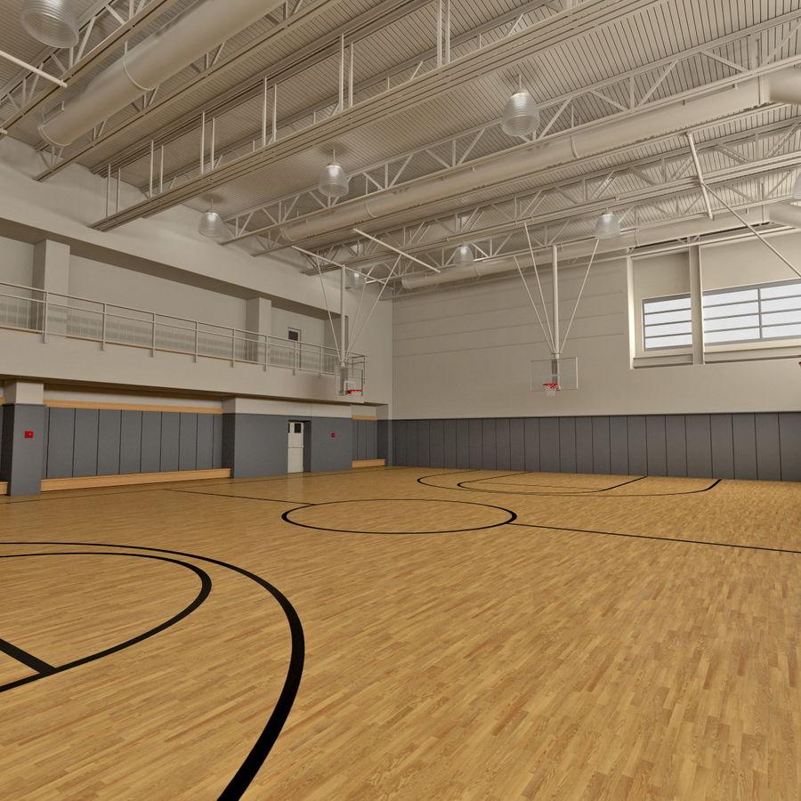 Academia de basquete royalty-free 3d model - Preview no. 4