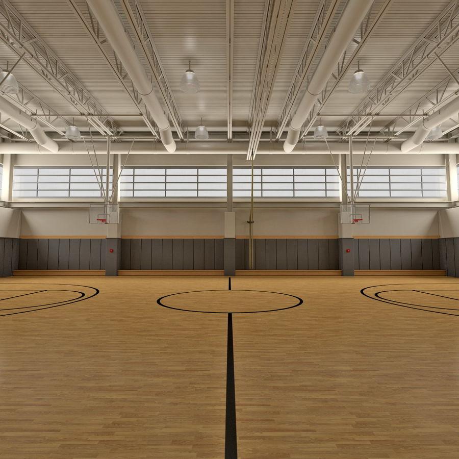 Academia de basquete royalty-free 3d model - Preview no. 7