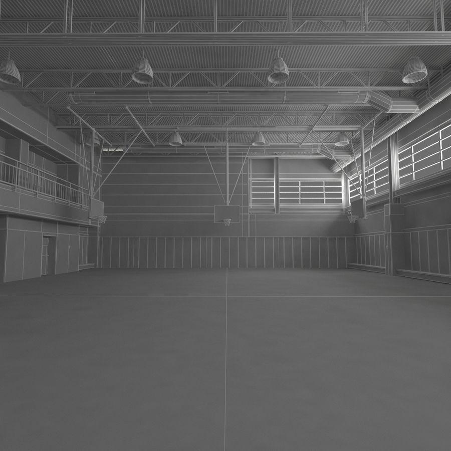 Academia de basquete royalty-free 3d model - Preview no. 20