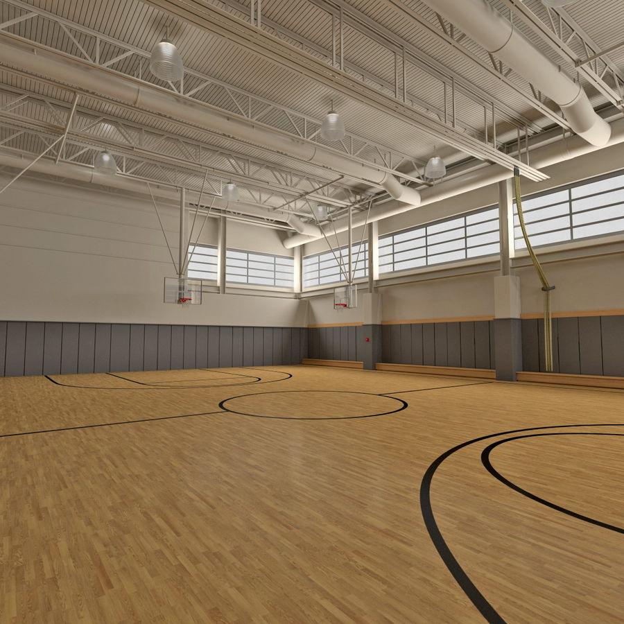 Academia de basquete royalty-free 3d model - Preview no. 6