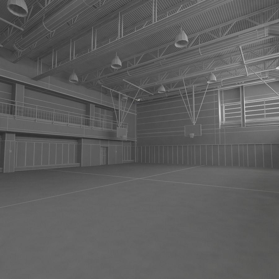 Academia de basquete royalty-free 3d model - Preview no. 19