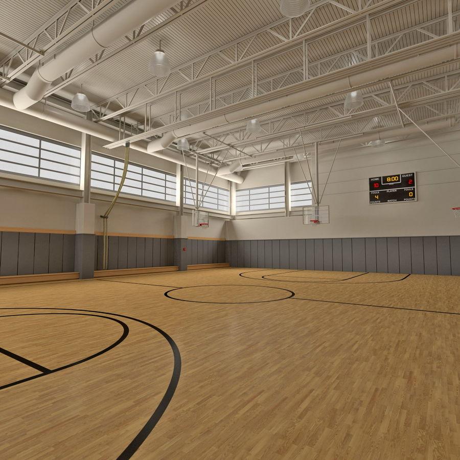 Academia de basquete royalty-free 3d model - Preview no. 8
