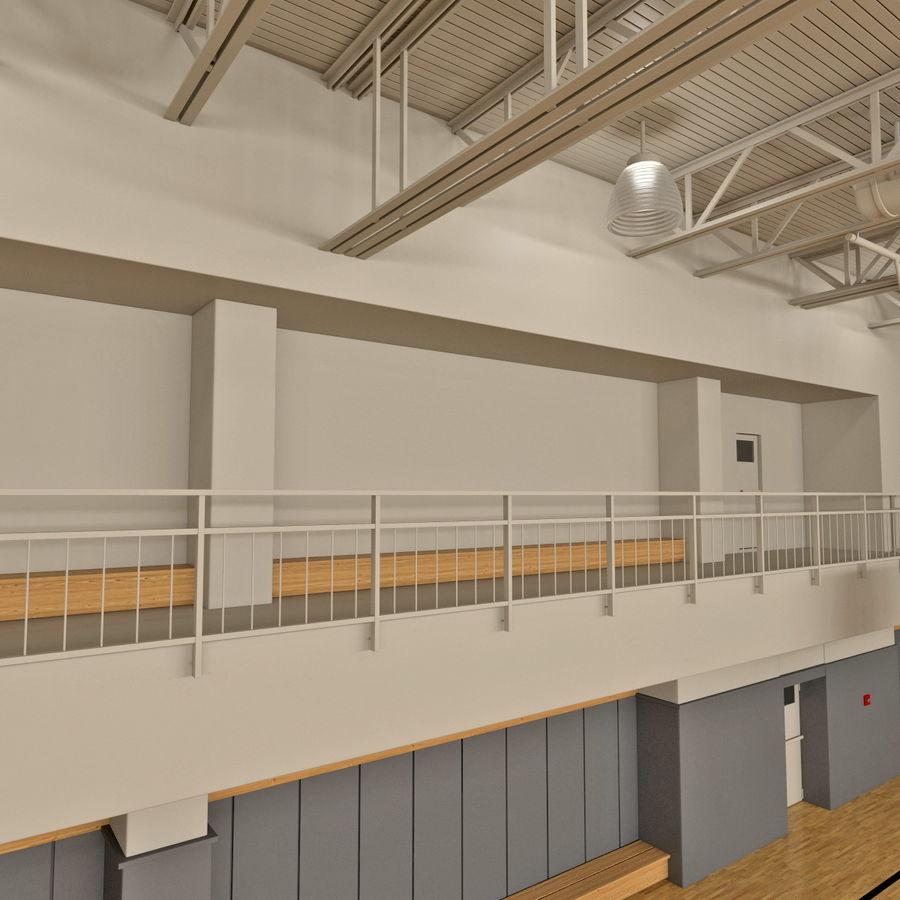 Academia de basquete royalty-free 3d model - Preview no. 10