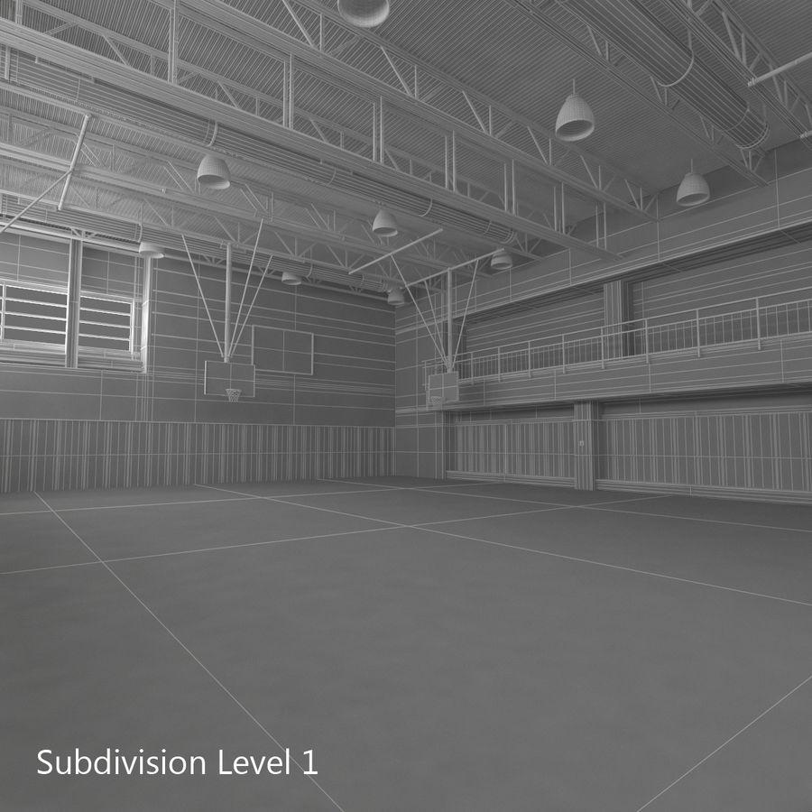 Academia de basquete royalty-free 3d model - Preview no. 30