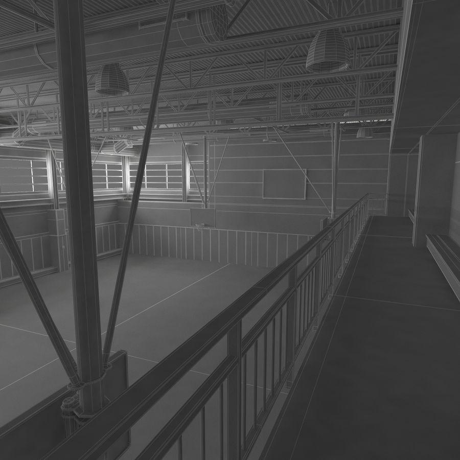 Academia de basquete royalty-free 3d model - Preview no. 28