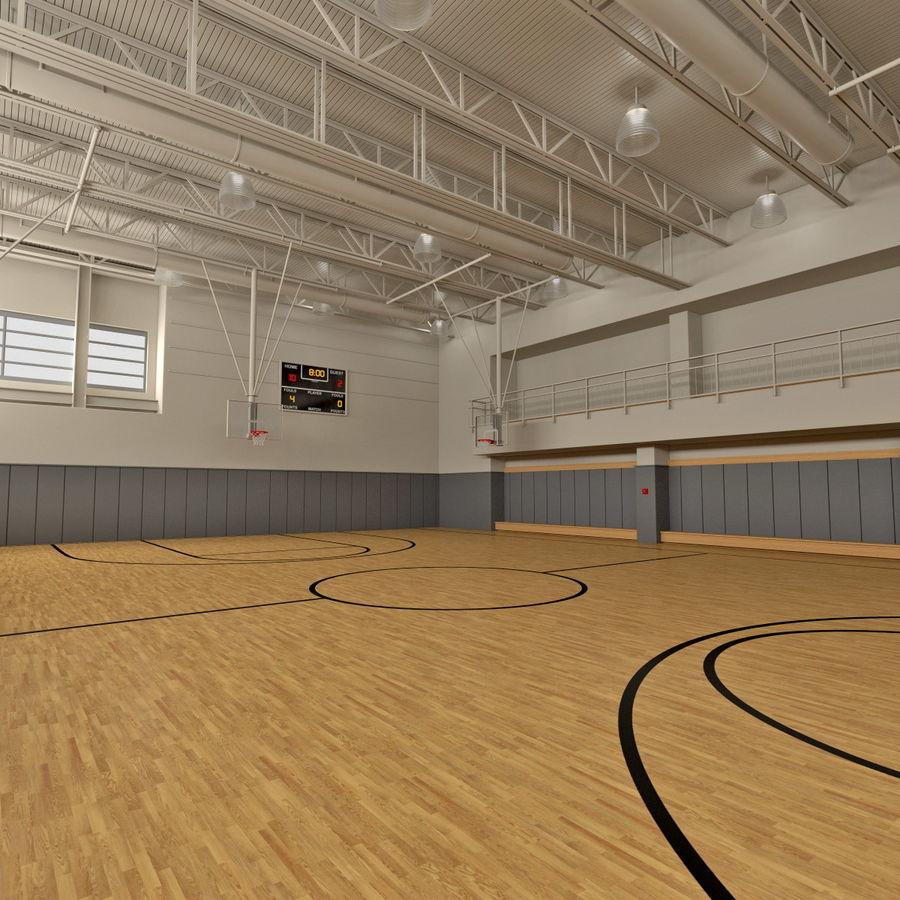 Academia de basquete royalty-free 3d model - Preview no. 1