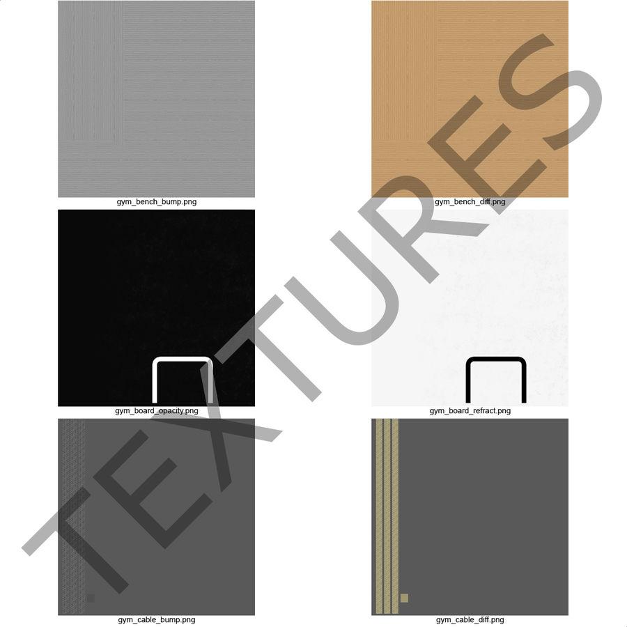 Academia de basquete royalty-free 3d model - Preview no. 31