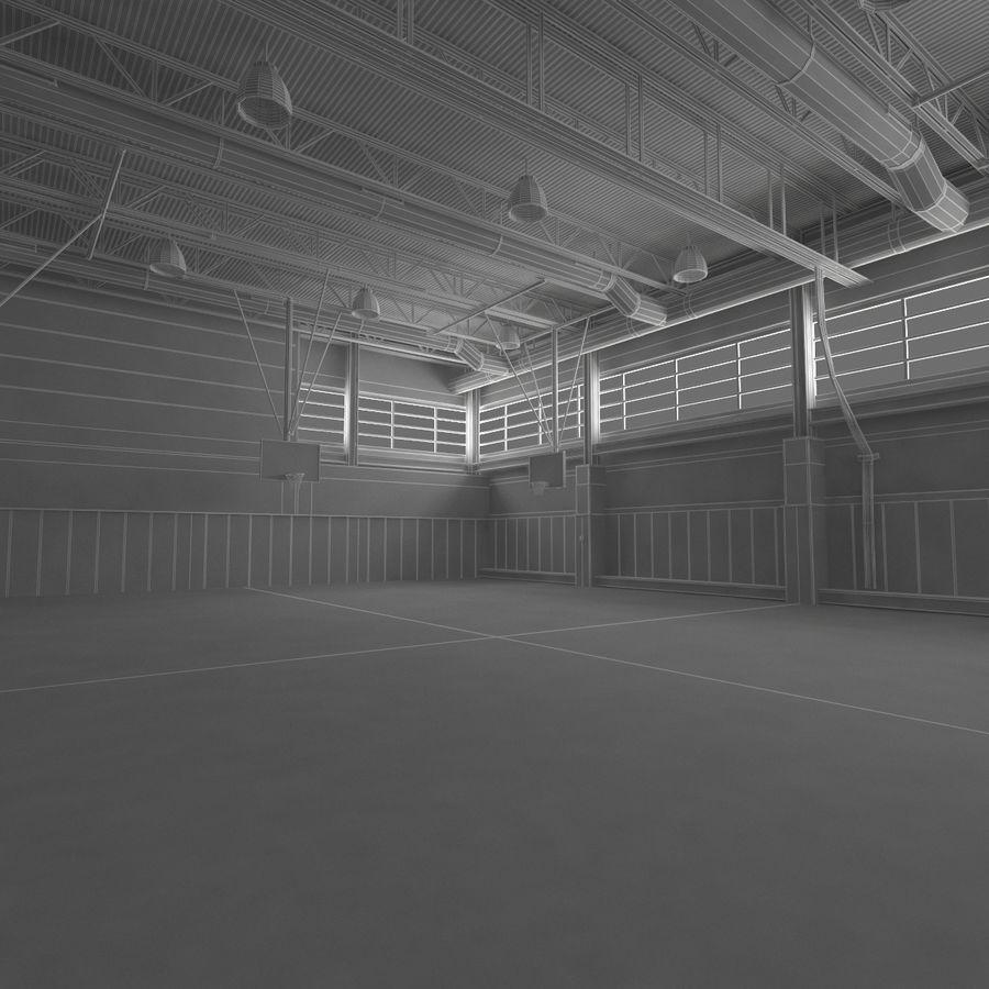 Academia de basquete royalty-free 3d model - Preview no. 21