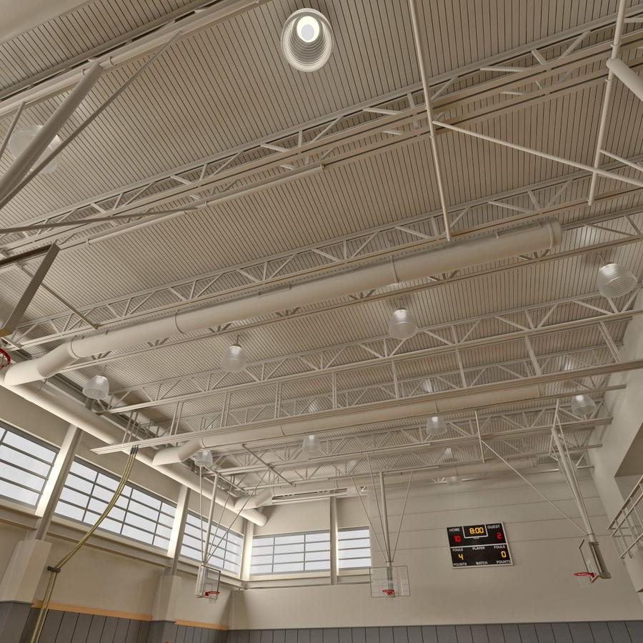 Academia de basquete royalty-free 3d model - Preview no. 9