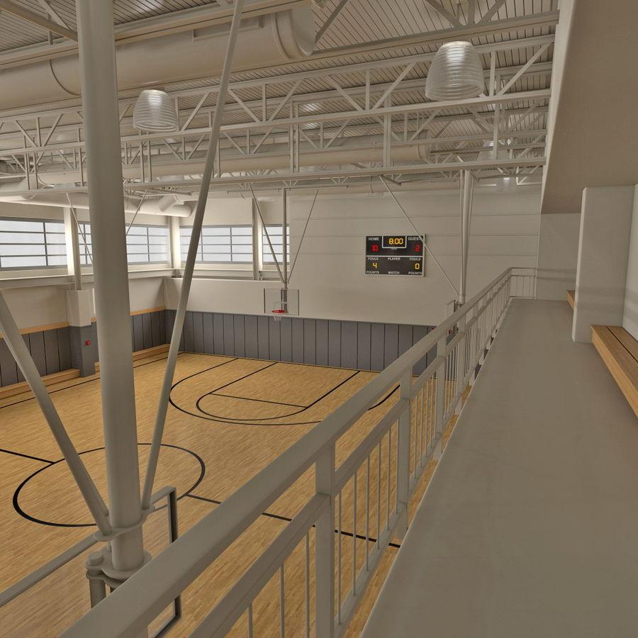 Academia de basquete royalty-free 3d model - Preview no. 16