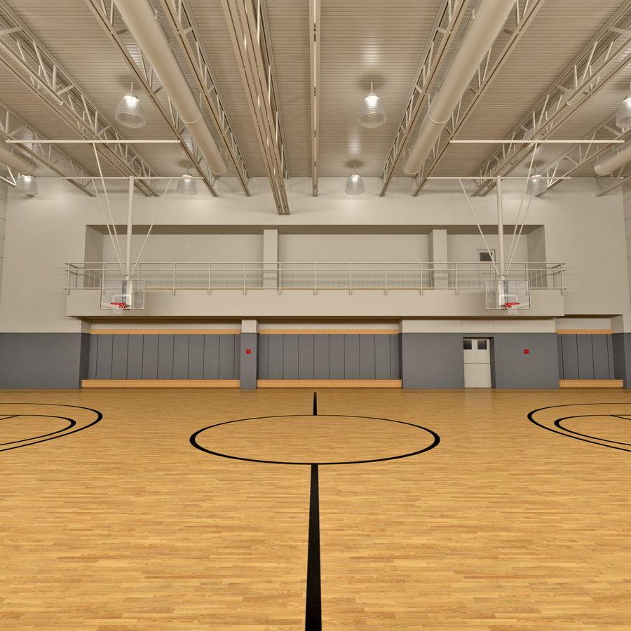Academia de basquete royalty-free 3d model - Preview no. 3