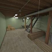 Seminterrato della casa 3d model