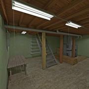 집 지하실 3d model