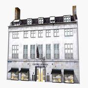 Casa classica fotorealistica 3d model