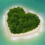 Heart Island 3d model