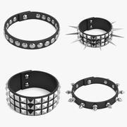 Bracelets Punk 3d model