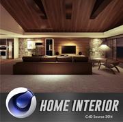 MCM House Interior 3d model