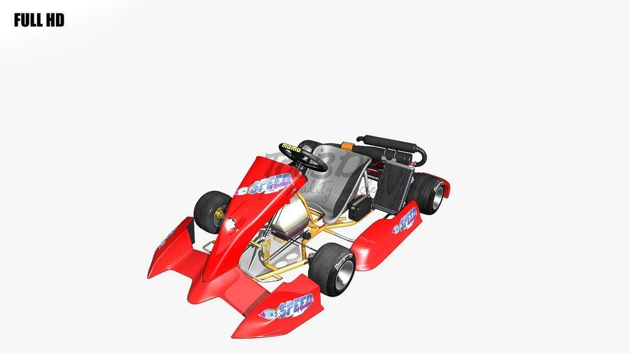 kart royalty-free 3d model - Preview no. 22