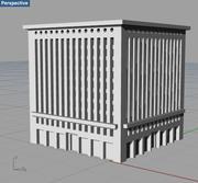 Edificio Wainwright modelo 3d